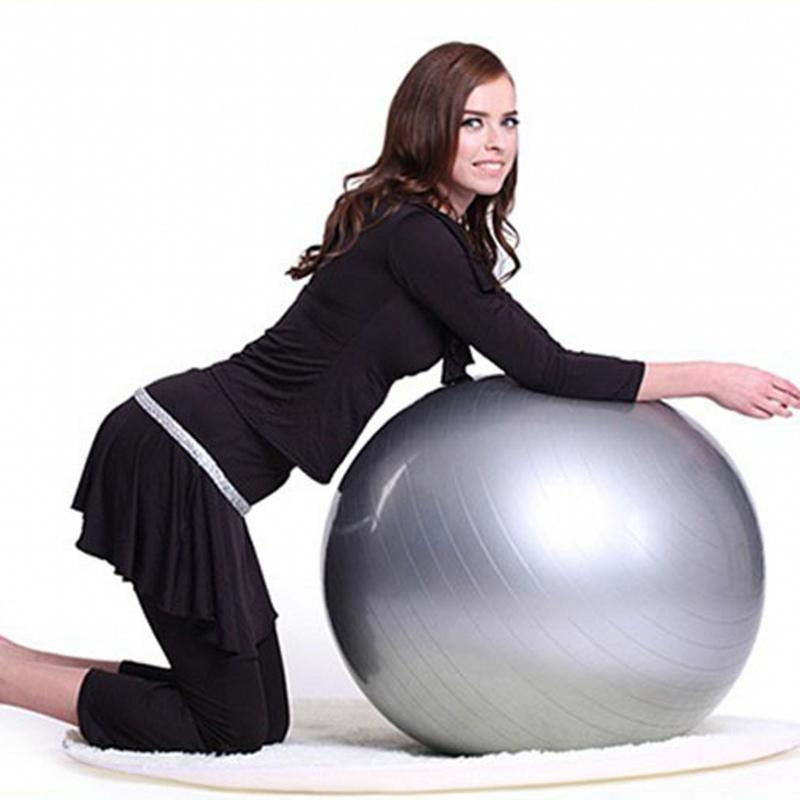 Zooboo Sports Yoga Balls Bola Pilates Fitness Gym Balance Fitball Exercise  Pilates Workout Massage Ball 55cm 94a96be76ede