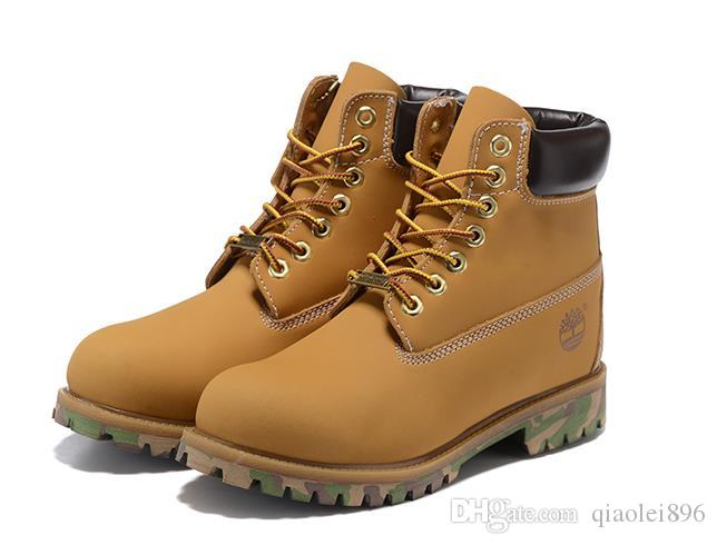 Hot Timberland Genuine Leather Brand Boots Outdoor Warm
