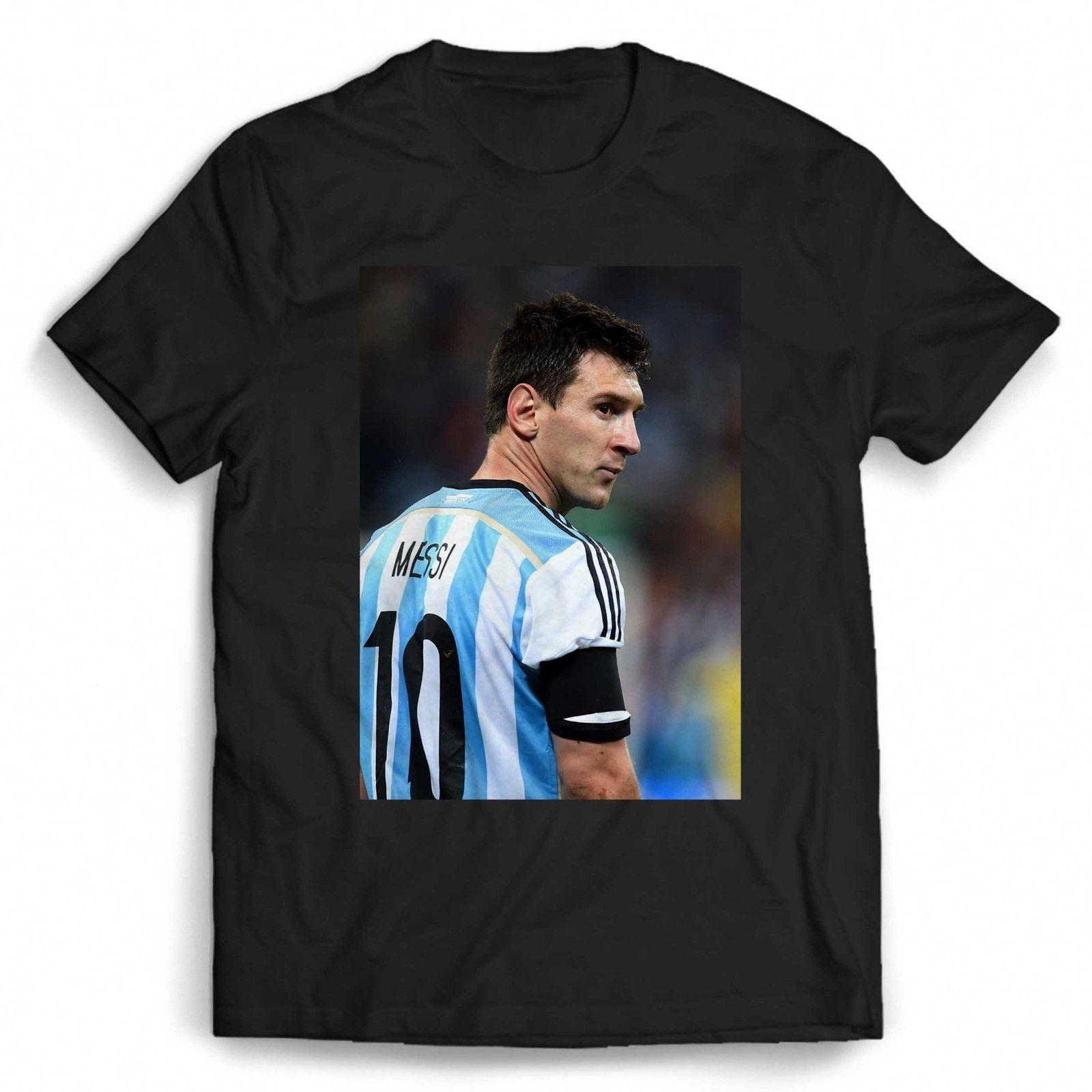 official photos 3c715 b235b Lionel Messi Argentina Team Men's / Women's T Shirt free shipping Unisex  Casual Tshirt top