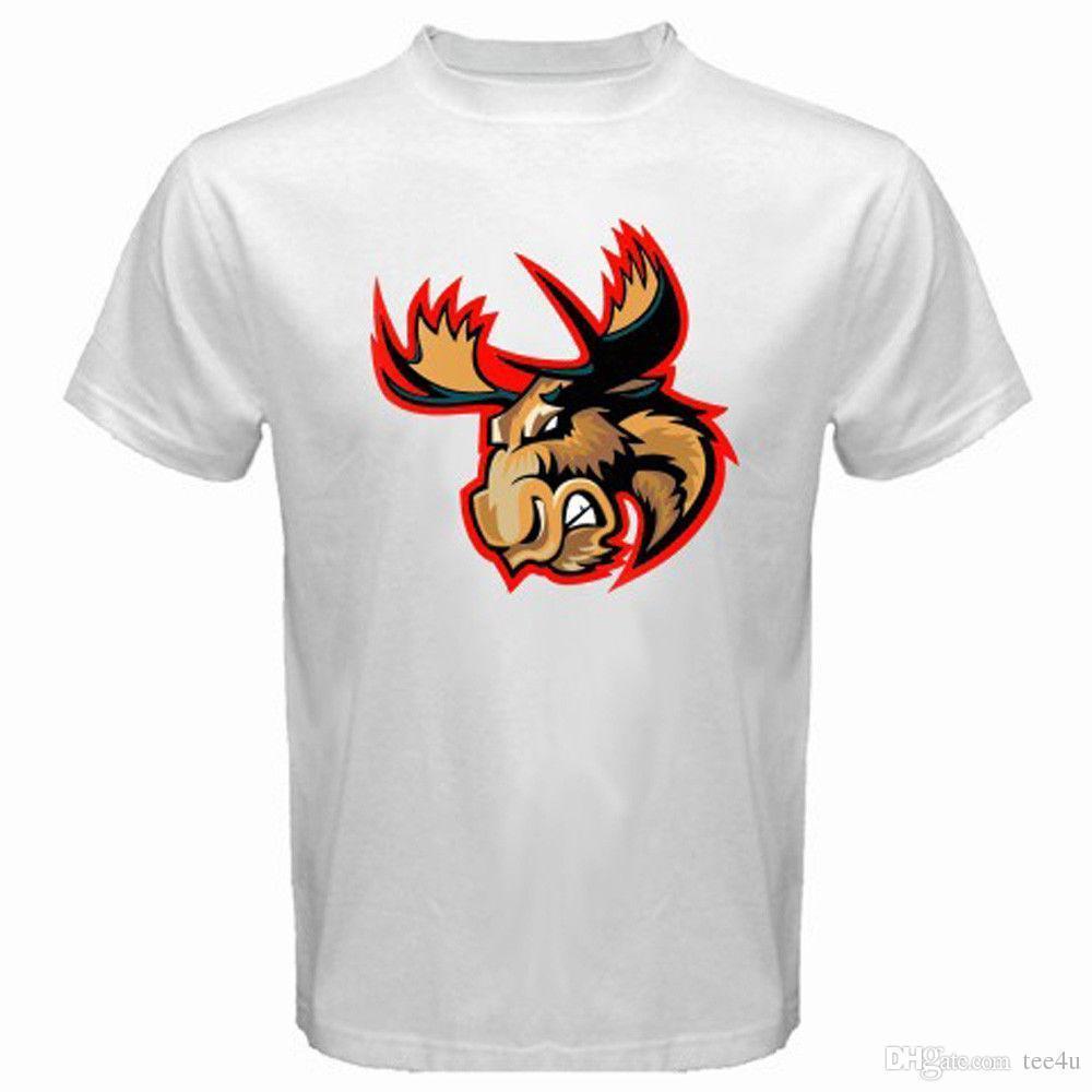 T Shirt Printing Company Short New Manitoba Moose Ahl Winnipeg Retro