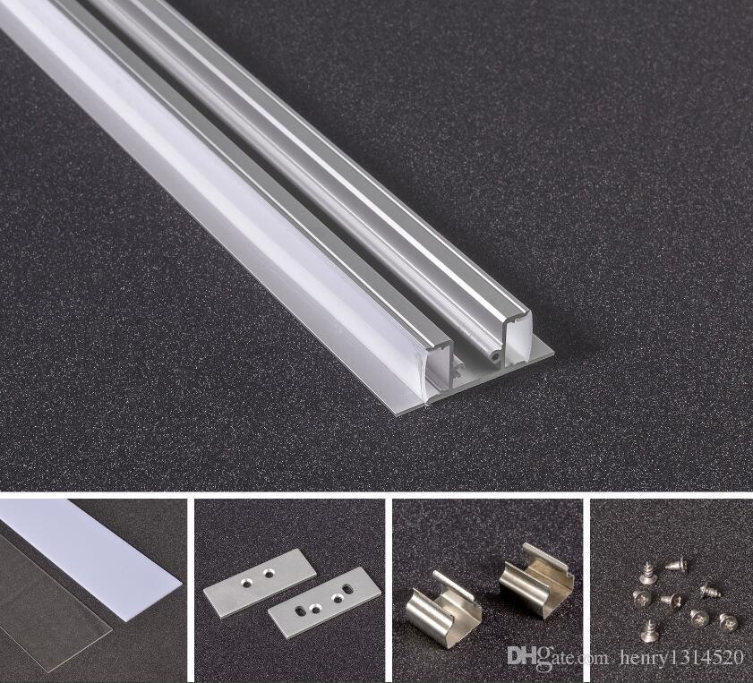 2019 1000mmx17 3mmx49mm High Luminous Aluminium Extrusion Profile