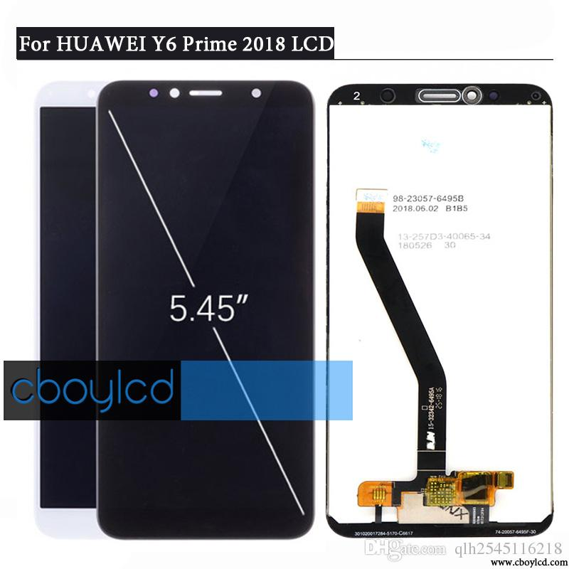 ORIGINAL 5 7 FOR Huawei Y6 2018 LCD Display Touch Screen Digitizer For  Huawei Y6 Prime 2018 LCD ATU L11 L21 L22 LX1 LX3 L31 L42 Screen