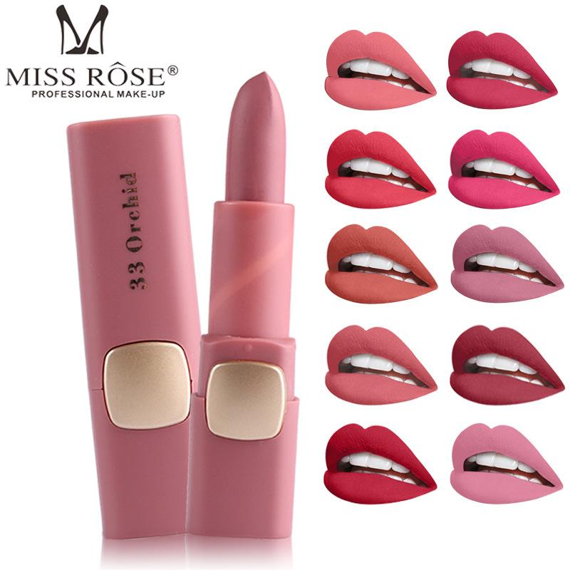 Sexy Red Lips Matte Velvet Lipstick Waterproof Long Lasting Moisturizing Lip Stick Cosmetic Women Lip Makeup