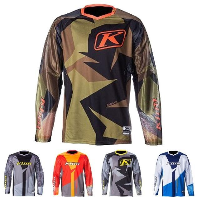 KLIM downhill clothing THOR cycling clothing shirt men TLD long-sleeved summer mountain bike off-road motorcycle clothing quick-drying cloth