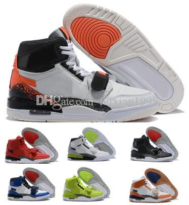 cd1f99a5819 Jumpman Legacy 312 Basketball Shoes Sneakers 2019 Mens Man Orange ...