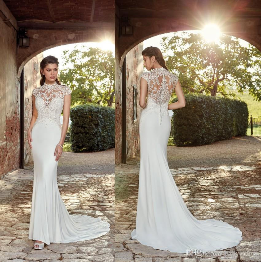 Gorgeous Eddy K New Couture 2019 Mermaid Wedding Dresses