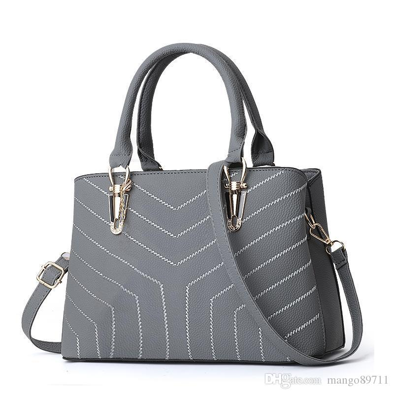 handbags Women's Top-handle Cross Body Handbag Middle Size Purse Durable Leather Tote Bag Ladies Shoulder Bags