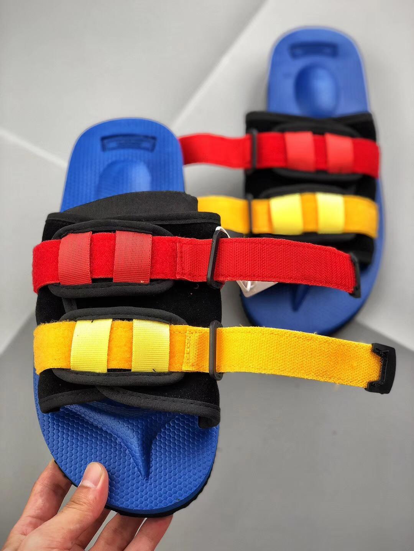 5975f91f5bb7 Top Quality Red CLOT X SUICOKE OG-056VEU MOTO-Vibeu Summer Trip Fest Olive  Silk Sole Sandal Slides Kanye West SUICOKE Slippers Online with  54.93 Pair  on ...