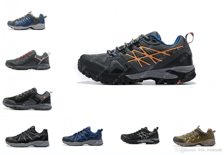d5f759703bf Acheter Les Hommes Sportswear Extérieur 32XV Mode Escalade Chaussures En  Cuir Imperméable Sneakers Designer Sports Northface Chaussures De Randonnée  CXT3 40 ...