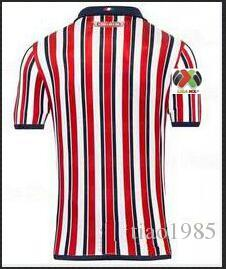 the latest 30932 f938b size S-XXL:2019 Chivas soccer jerseys 19 Mexico camisetas de futbol  Guadalajara home away LOPEZ BRIZUELA maillot de foot Football Shirts