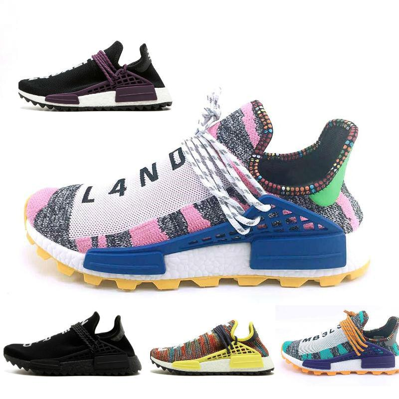 91fed47f0 2019 2018 Cheap Wholesale NMD Online Human Race Pharrell Williams X NMD  Sports Running Shoes