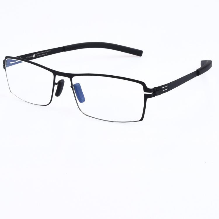 3d090297b20 2019 New IC Metal Eyebrow Men Glasses Jelly Color Flat Mirror Trend  Decorative Mirror Business Frame Models Eyeglasses Glasses Eyeglasses  Online with ...