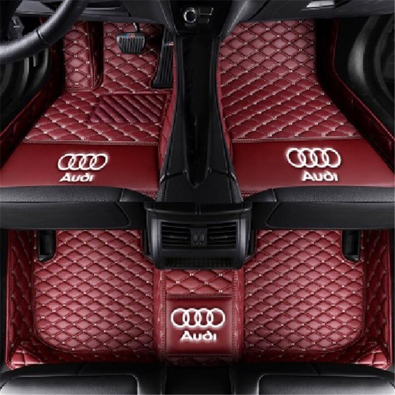 2019 For To Audi A3 2014 2019 Car Mat Anti Skid Pu Interior Mat
