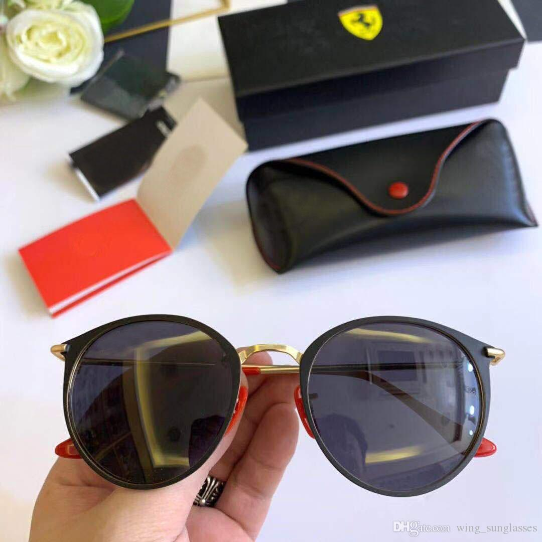 Ferrari Hommes Dpz En Soleil Verre Lunettes 2019 Lentilles Gafas Marque De Rayeds Gradient 58mm Rayban Uv400 G15 Miroir Hot Femmes 8nkOwP0