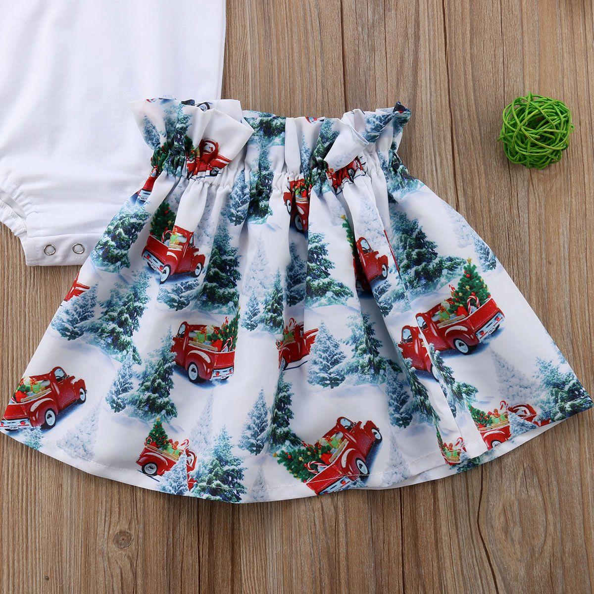 nouveau-nés Enfants Baby Girl Tenues Vêtements Set Fly Sleeve Solid Romper Tutu Mini-jupe Outfit