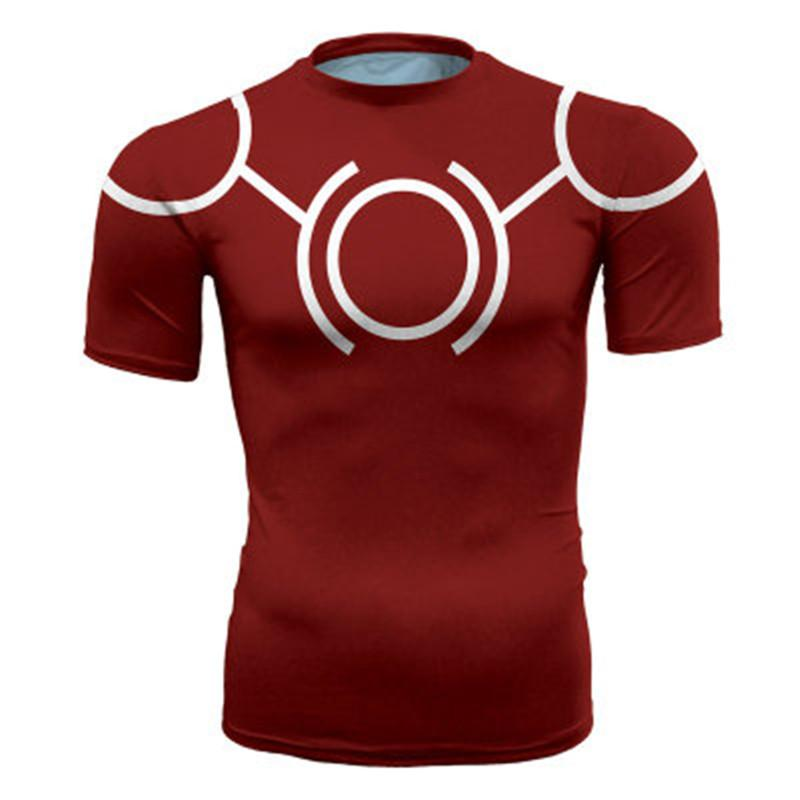 35b09fc1 My Hero Academia Short Sleeve 3D Printed T Shirt Men Crossfit Tee Tshirt  Men Fitness Compression Shirt 2019 New Design T Shirts Online Order T Shirts  From ...