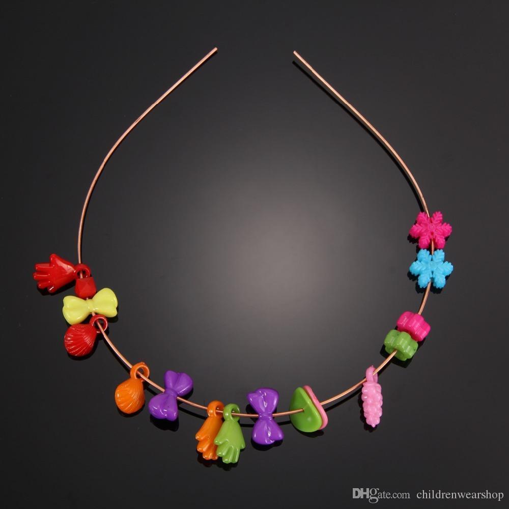 eometric shapes Kids Jigsaw Puzzle Geometric Shape Beads Toys Plastic  Acrylic Bead Kit Creative Girls DIY Jewelry Making Beads Set Handma