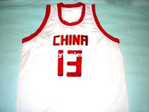 2019 Cheap Mens YAO MING TEAM CHINA JERSEY WHITE NEW ANY SIZE XS 5XL Retro Basketball  Jerseys NCAA College From Hytopjersey 759aeb755