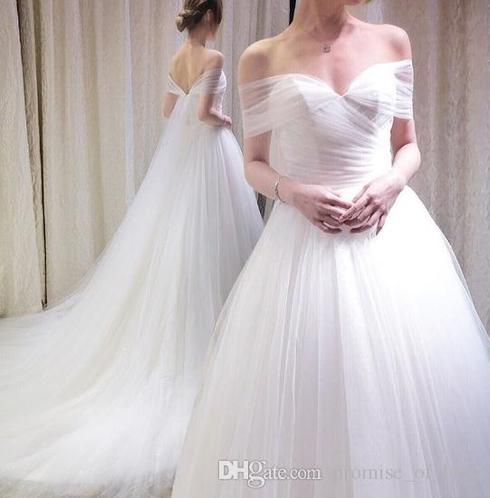 Discount 2019 New Fashion Wedding Dress Korean Version Thin Style