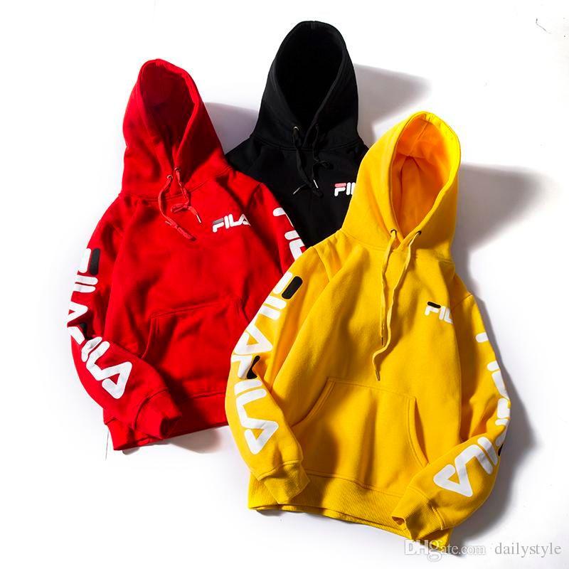f2eaf4bf0d 2019 F Letter Designer Men Hoodie Sweatershirt Sweater FILA Print ...