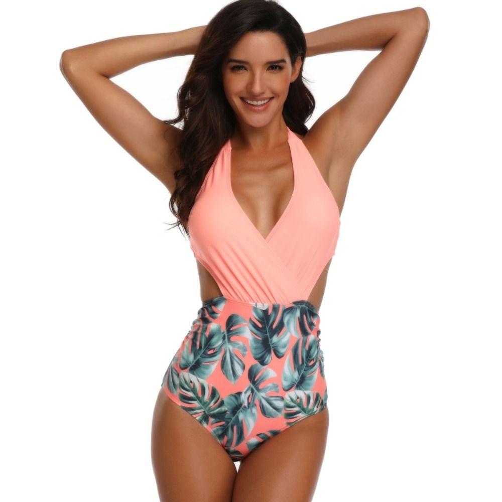 e5aea712dd6 2019 One Piece Swimsuit Trikini Swimwear Women Sexy Swimming Suit For Women  Backless Monokini Hollow Out Bathing Suit Swim Wear From Sinhsportmall, ...