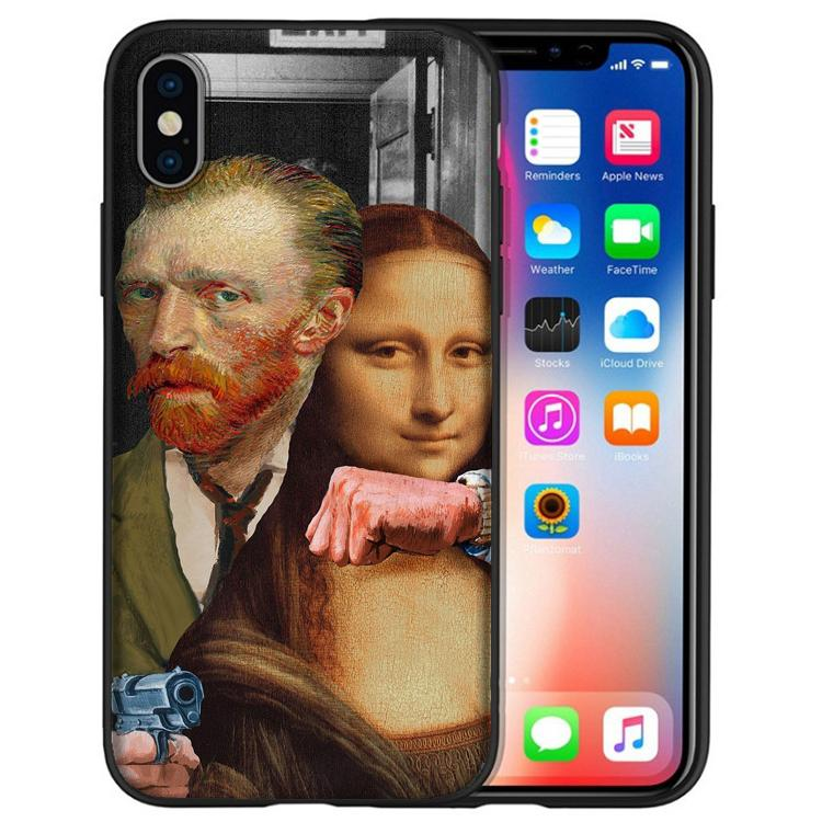 coque iphone 8 mona lisa