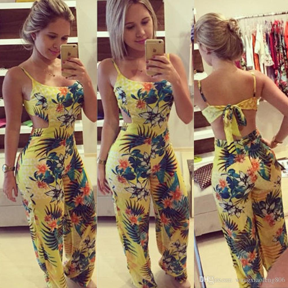 Fashion Women Clubwear Summer Playsuit Bodycon Party Jumpsuit Romper Trouser