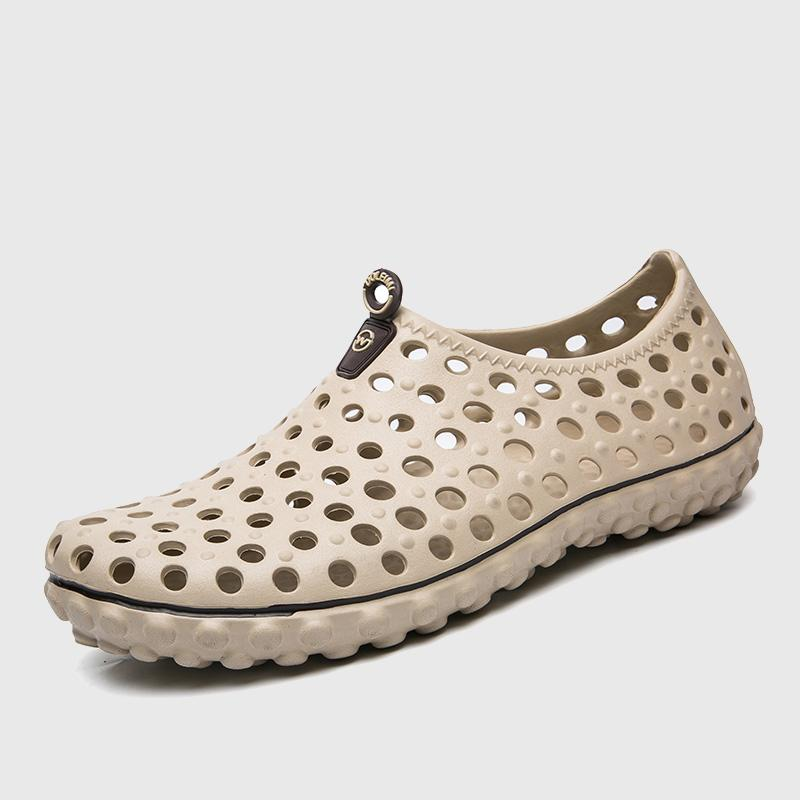 Hot Sale Summer Men S Water Shoes Beach Clogs Shoes For Men Super Light  Male Closed Toe Garden Clog Big Size 11 Nude Wedges Bridal Shoes From  Mikeey 6aa434e38f4