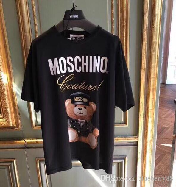 e55c32100ea Fashion Type Streetwear Brand Tee Men Women Anime Action Figure Pattern Printing  T Shirt Women Crew Neck Bear Logo Loose Girl Tees Buy Cool Shirts Online ...