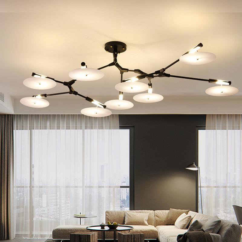 Acquista Plafoniere Moderne Del LED Apparecchio Di Illuminazione ...