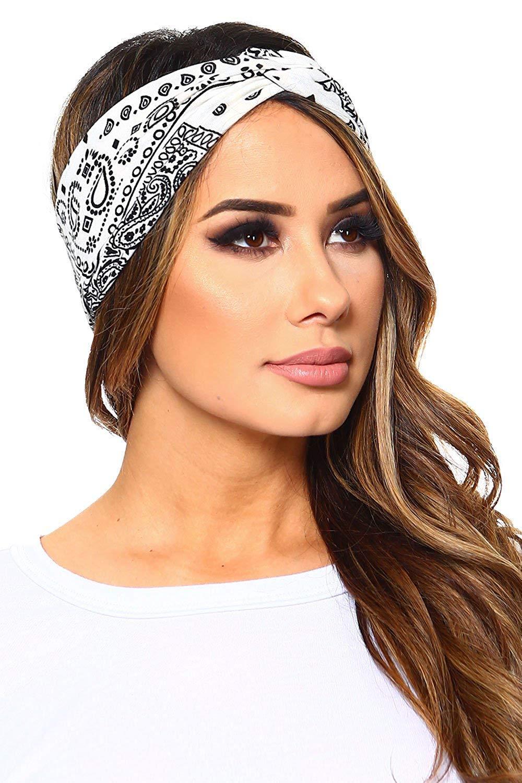 410e0880e0fb Acheter Coton Bandana Femmes Mode Doux Stretch Wrap Bandana Bandeau Cheveux  Bandes Au Hasard De  5.22 Du Cparrot love999   DHgate.Com