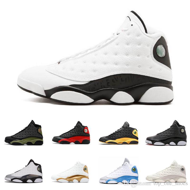 low priced 7267d a89d6 Acquista Nike Air Jordan 13 Retro 2019 13 Flint Men Scarpe ...