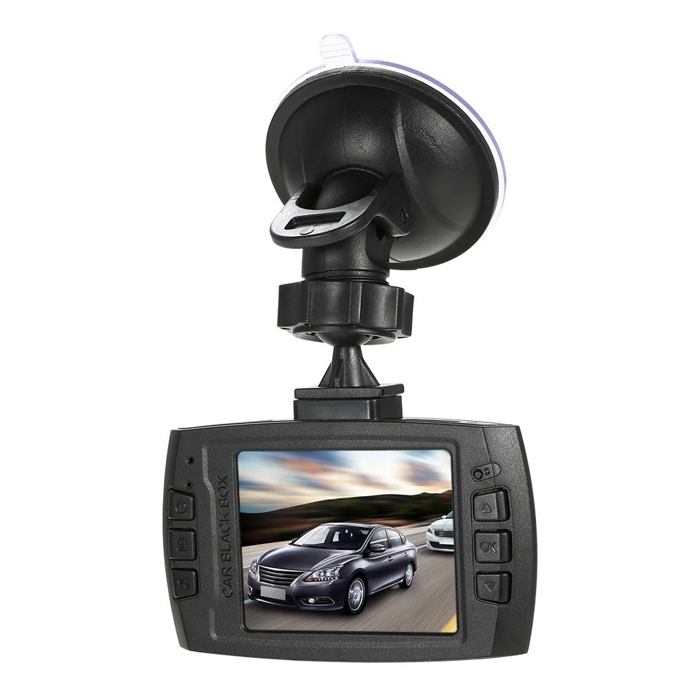 Standdard Cámara DVR para coche V300 Full HD 1280 * 720 140 Grado amplio Registradores de video Dashcam Grabador de visión nocturna G-Sensor Dash Cam
