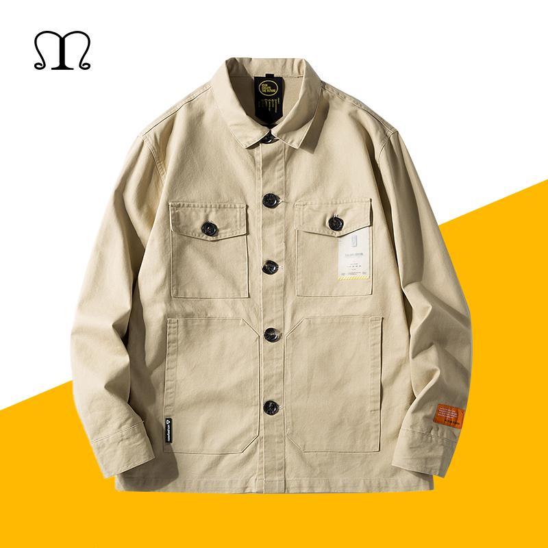 594ed955e78a 2019 New Bomber Jackets Men Button Baseball Jacket Coats Spring Autumn Men S  Jackets Windbreakers Casual Loose Coats Outerwear Winter Jacket Mens  Leather ...