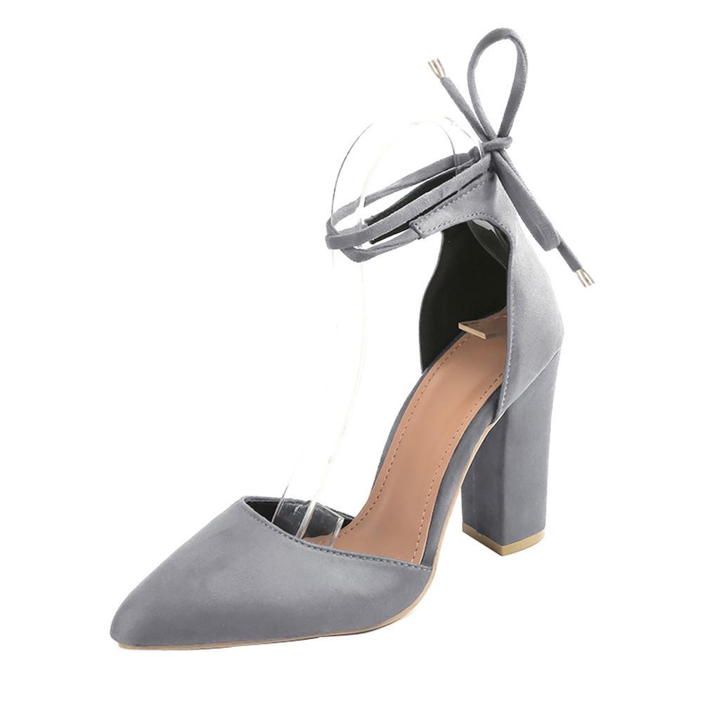 292898fdcb3a Dress 2019 Sandalias Femeninas High Heels Flock Pointed Sandals Sexy High  Heels Female Summer Shoes Female Sandals Mujer Pumps Shoes Slippers For Men  From ...