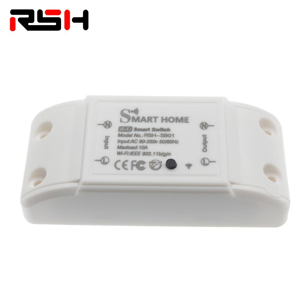 Wireless Smart Light Switch Universal Circuit Breaker Wireless Remote  Control for use with Alexa s Google Home Smart Home