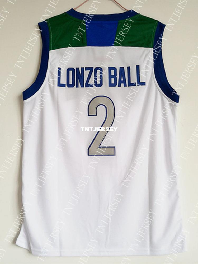 7cf8ff011 2019 Cheap Wholesale Lonzo Ball Jersey 2 Chino Hills Huskies High School  White Jersey Customize Any Name Number MEN WOMEN YOUTH Basketball Jersey  From ...