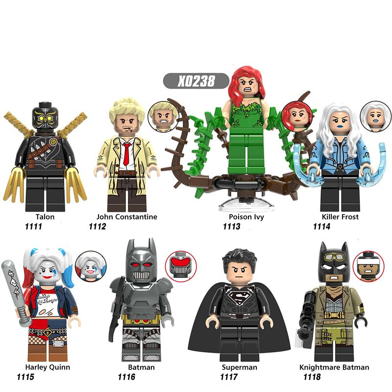 Building Blocks Avengers 4 End Game Space Talon John Constantine Killer Frost Bricks Figuras Juguetes para niños X0238333