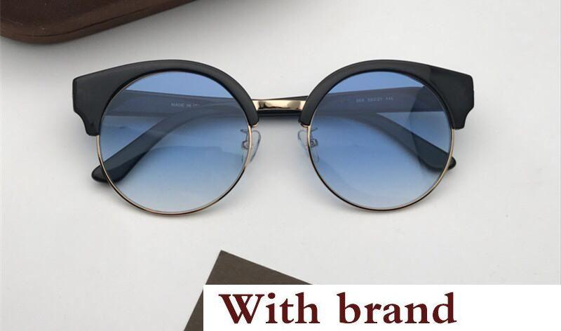 0608 Sunglasses For Women Designer Popular Retro Fashion Style UV Protection Lens Cat Eye Frame Top Quality Free Come With Case