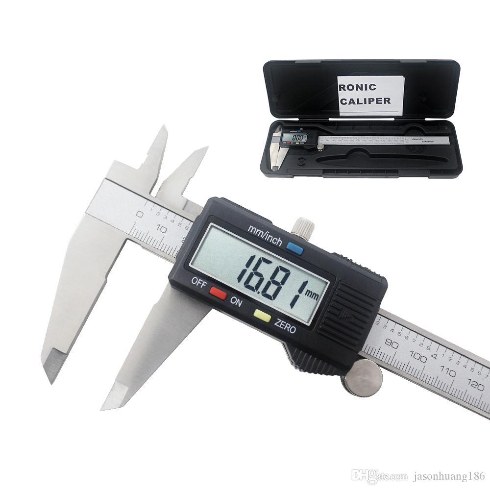 US 6/'/' Inside /& Outside Calipers For Dimension Vernier Caliper Measuring Tool