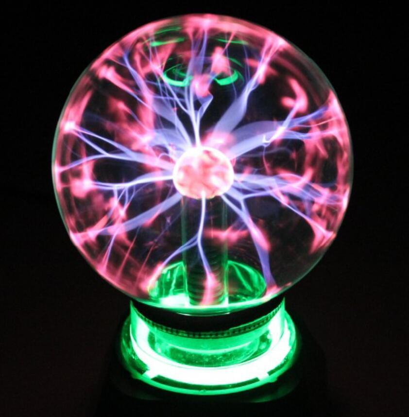 Magic Crystal Plasma Light Ball Electrostatic Induction Balls Toys for Kids Party Decoration Gift Free Shipping