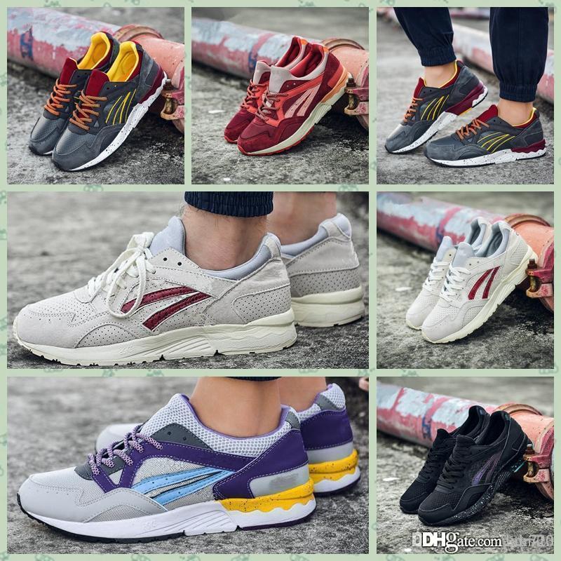 Asics Gel Lyte V 2019 Gel Lyte V H519L 1611 Hombres Zapatos Mujeres Zapatos para correr Entrenamiento deportivo de calidad superior Zapatillas de