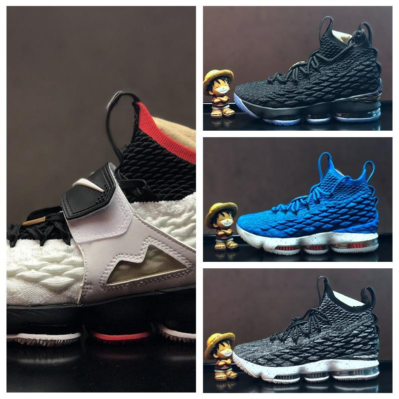 9a6300ea01a1 Acheter Nike Air Lebron James LBJ15 LBJ Pas Cher Hommes Femmes Sports De  Plein Air Chaussures 15 EP Pride Of Ohio 897648 003 001 Basketball Designer  De Luxe ...