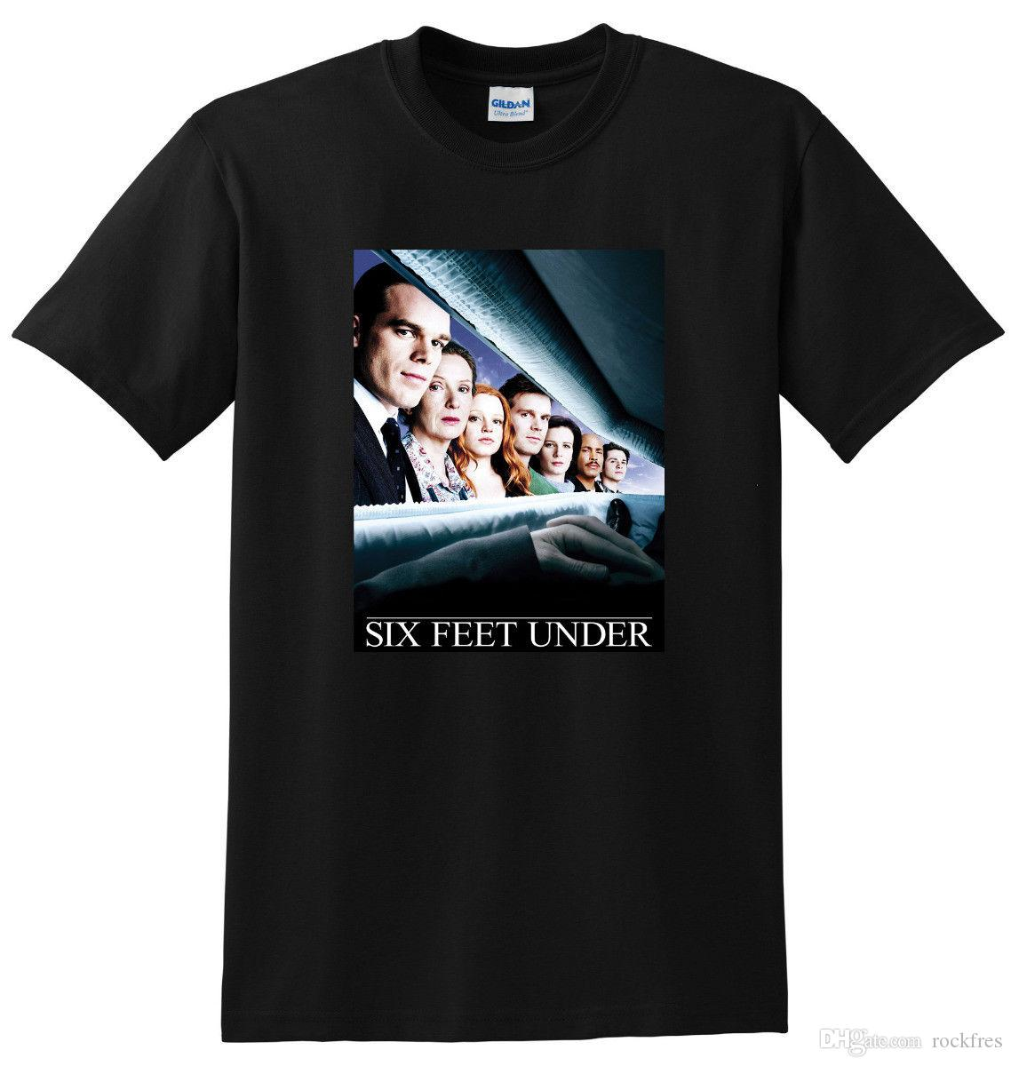 *NEW* SIX FEET UNDER T SHIRT tv show season 1 2 3 4 SMALL MEDIUM LARGE or XL