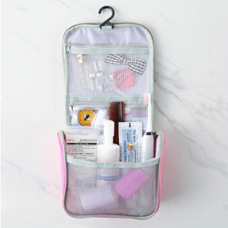 2019 Hot Neutral Makeup Organizer Bathroom Hanging Bag Waterproof Polyester  Travel Cosmetic Bag Cosmetic Hanging Wash From Bokulu, $37.46 | DHgate.Com