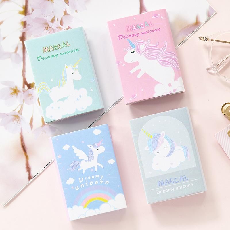 Unicorn Memo Notes Bookmark School Present Wedding Gifts for Guests Gift Party