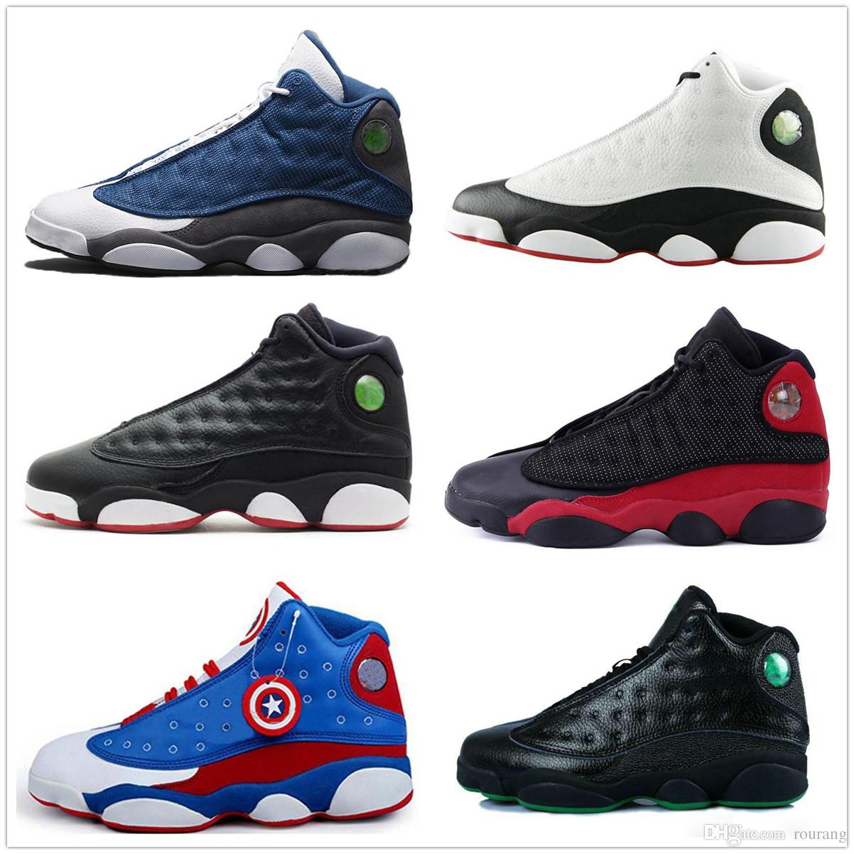 hot sale online 276ff 5db9e Mens shoes 13 Basketball shoes 13s Pure Money Ray Allen 2018 New Designer  sneakers He Got Game Altitude outdoors Sports Kids us 8-13