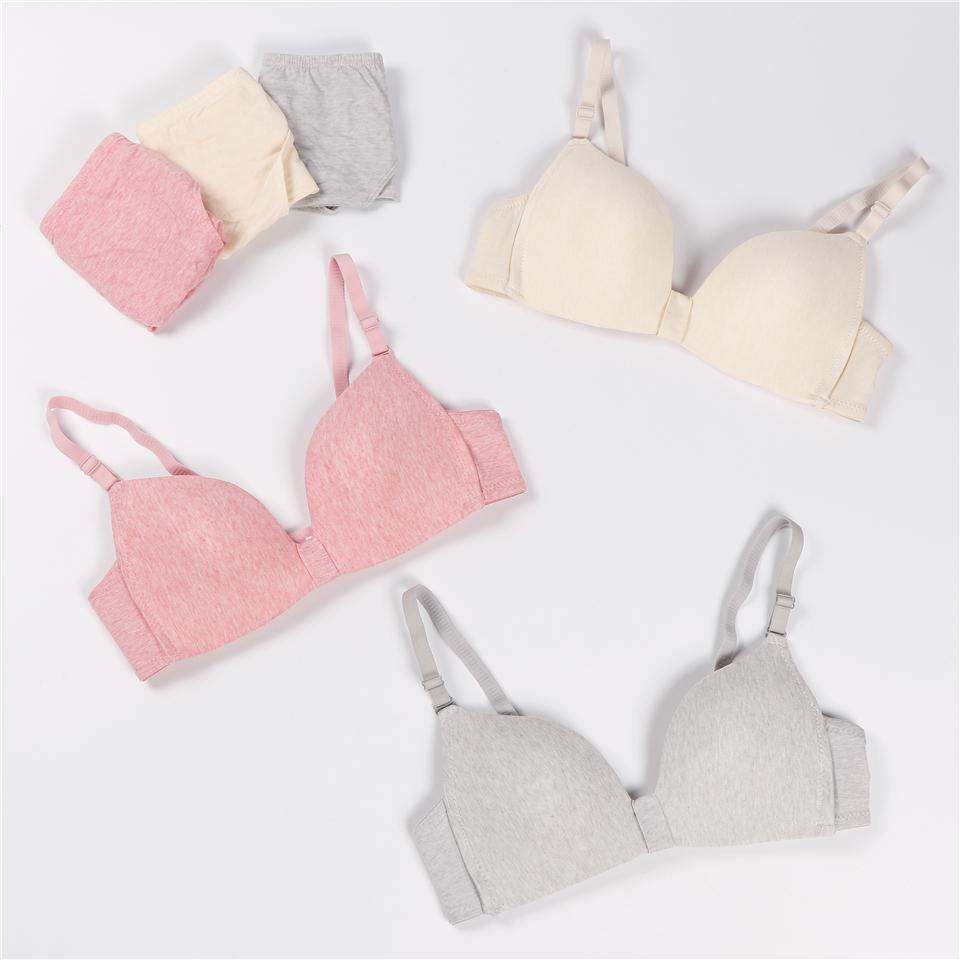 3cb182fadae New Sexy Bra Sets Triangle Thin Mold Cup Women Green Underwear Fashion No  Steel Ring Lace Light Pink Grey Bra Briefs Set UK 2019 From Yuhuicuo