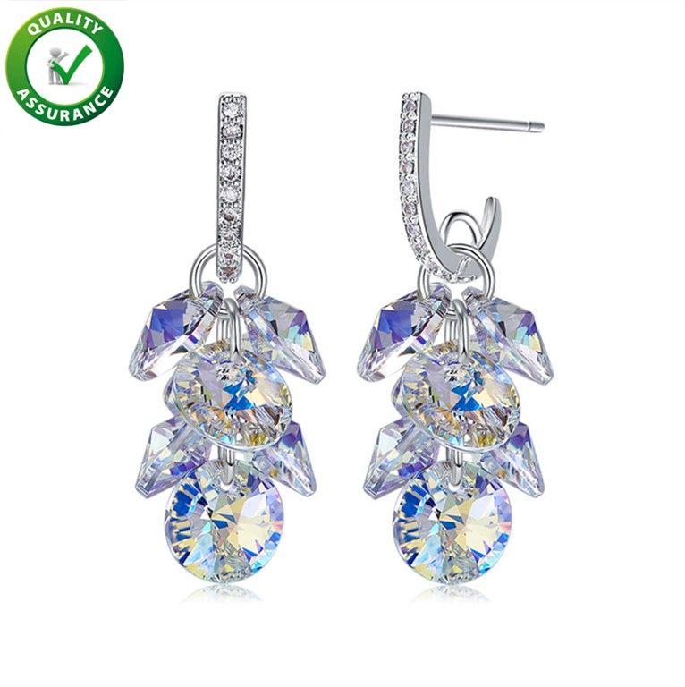 e344d0a5b 2019 Luxury Designer Brand Jewelry Women Earrings Boho Earrings Hoops  Diamond Stud Statement Pandora Style Charms Bling Crystal Fashion Ear Rings  From ...