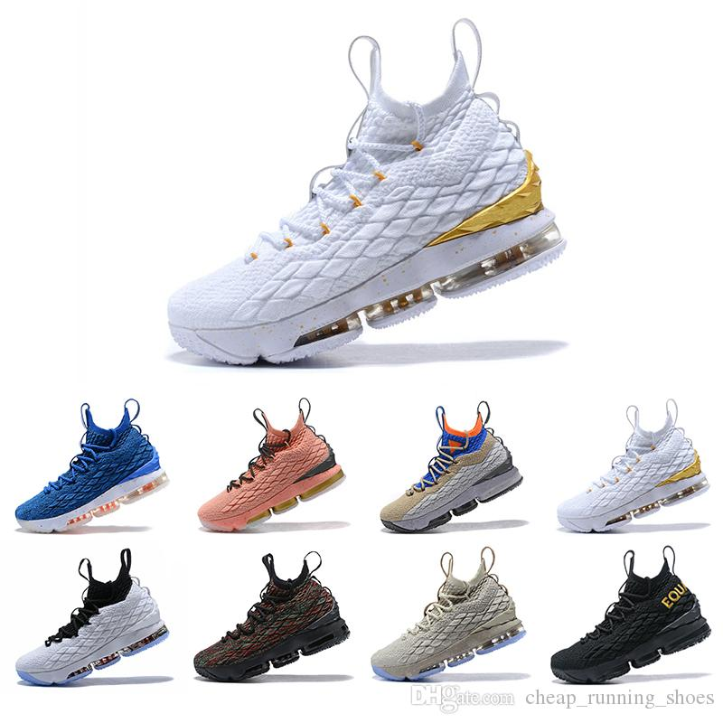 finest selection 8b522 b3cba New High Quality Newest Ashes Ghost Lebron 15 Basketball Shoes Arrival  Sneakers 15s Mens Casual 15 KingJames sports shoes LBJ EUR 40-46